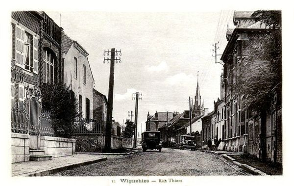 WIGNEHIES-Rue Thiers