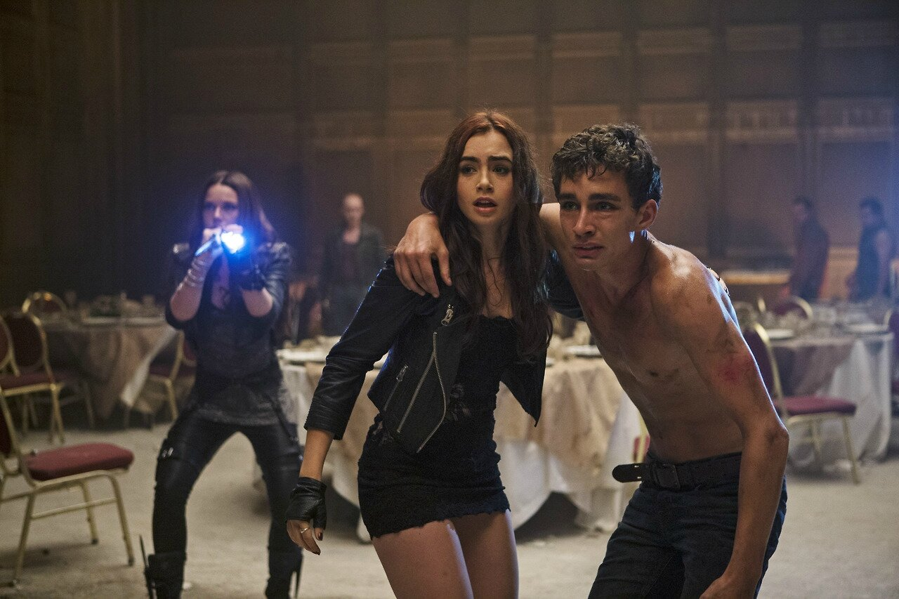 Clary and Simon Mortal Instruments movie