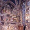 Chapelle Baroncelli - Vie de la Vierge (T.Gaddi) 1328-1334