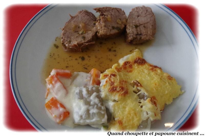 gratin de blettes et de carottes-5993