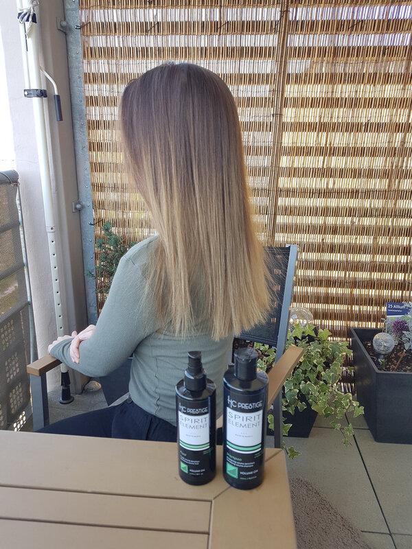 jour 1 cure Guiran cathytutu partenariat test produit cheveux beaute beauty epais volume (1)