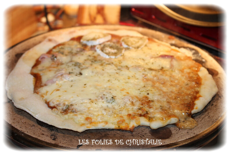 Pizza 4 fromages 3