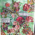 Artjournal et gribouillage #130- thème fleurs