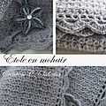 Etole au crochet chantal Sabatier