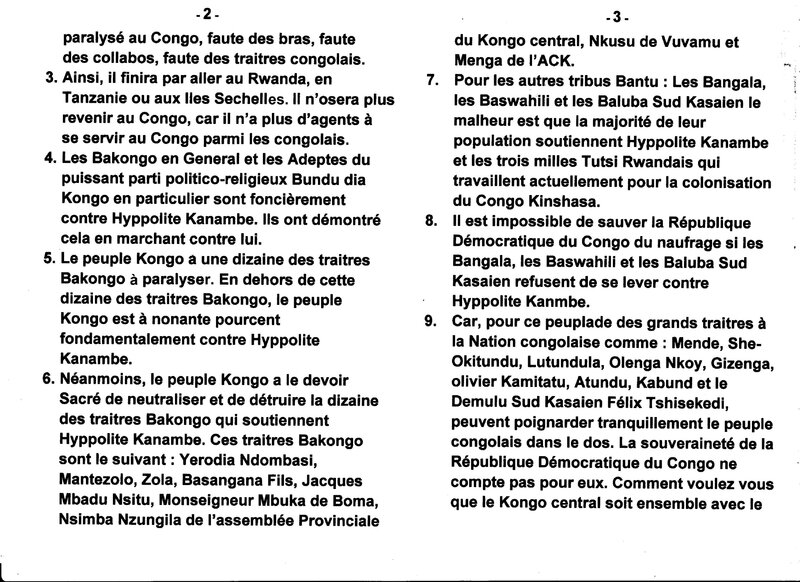 LE GRAND MAITRE MUANDA NSEMI DONNE UNE INSTRUCTION TRES IMPORTANT AU PEUPLE CONGOLAIS b