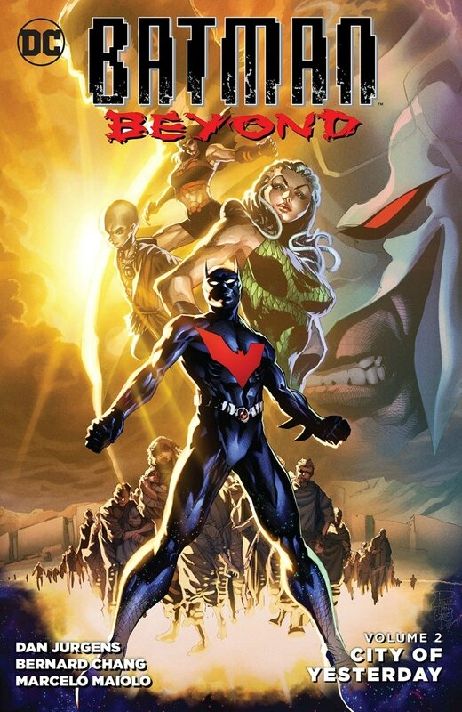 new 52 batman beyond vol 02 city of yesterday TP