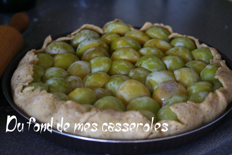 tarte rustique aux prunes1