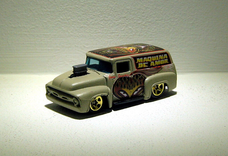Ford panel van de 1956 (Hotwheels)