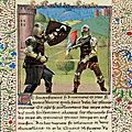 Le combat des légendes (chevaliers table ronde)