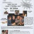 Affiche de la soirée jazz emij du 17 novembre 2007