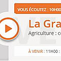 Agriculture : dfam communique contre l'agribashing ? ecouter la grande emission rcf allier interview juliette moyer merci !