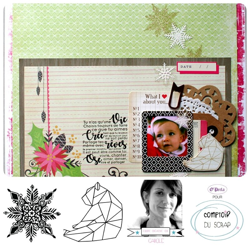 collagecalendrier de l'avent scrap
