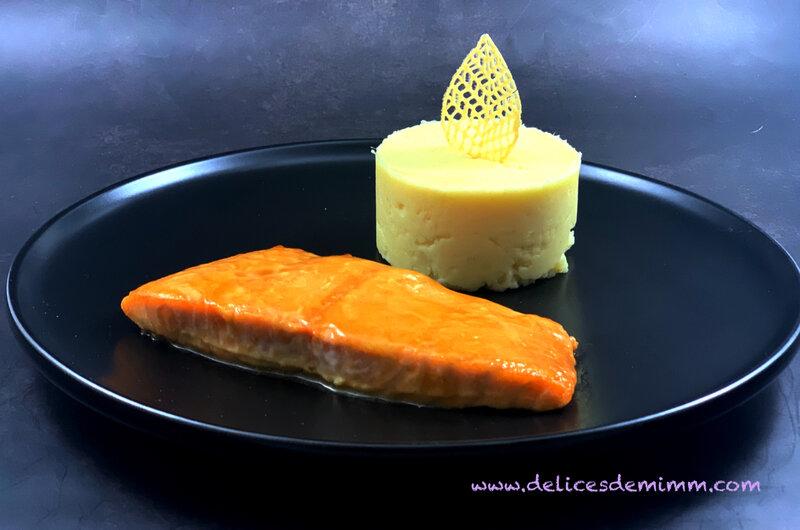 Filet de saumon laqué au sirop d'érable 3