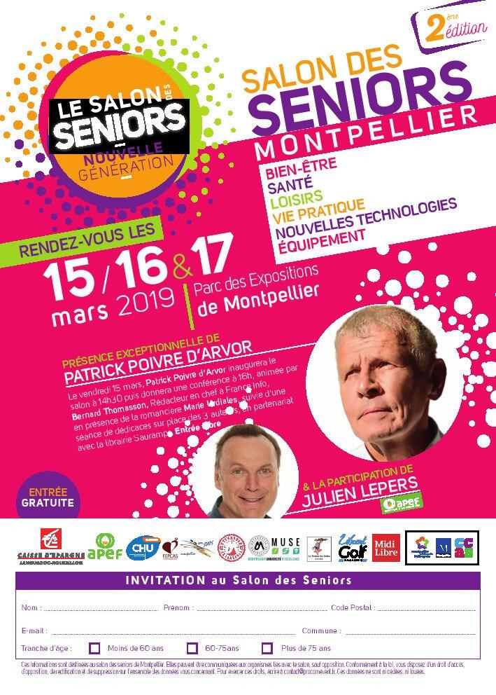 Retrouvez moi du 15 au 17mars sur le stand Des Jardins De Tara relais Terre Vivante pour le salon Séniors à Montpellier (34)