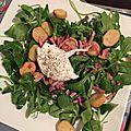 Salade lyonnaise et oeuf poché