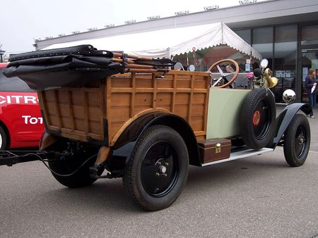 MATHIS M Normande chassis long 1924 Bourse Echanges Auto Moto de Chatenois 2009 4