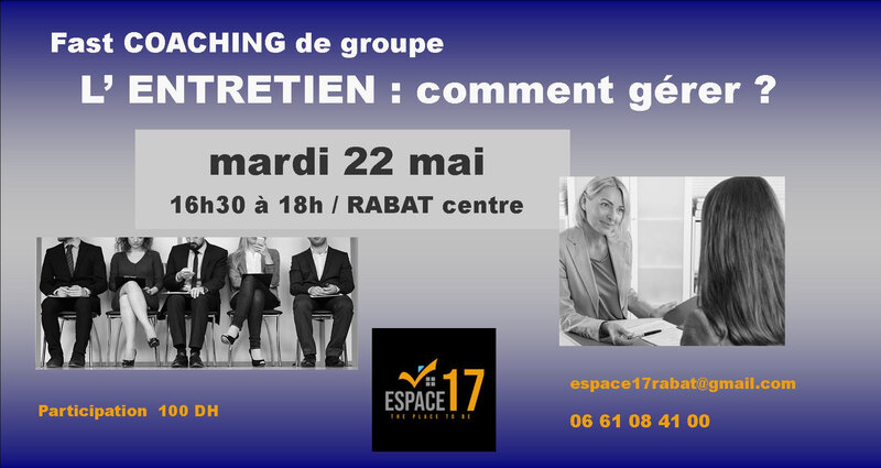 flyer coachingENTRETIENSMay18