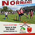 Fontaine-etoupefour, 20 septembre 2020: grand tournoi de choule crosse normande