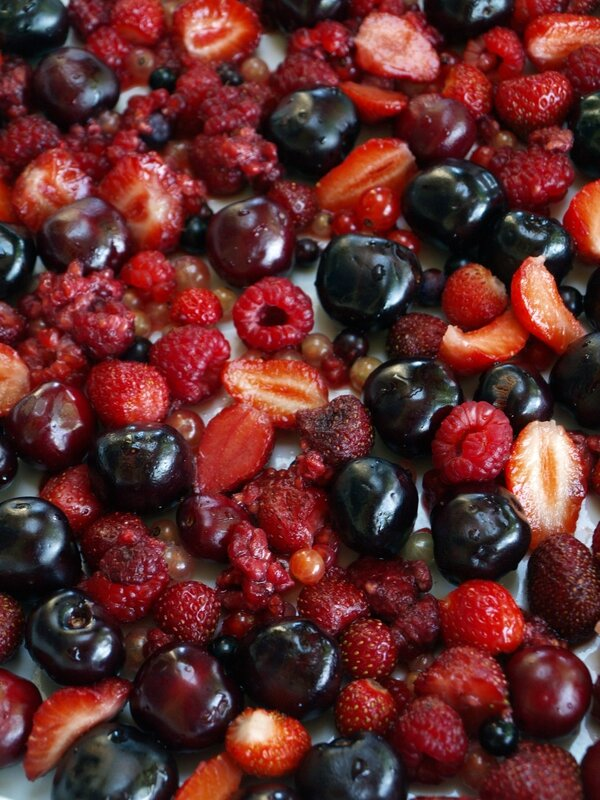 clafoutis fruits rouges2