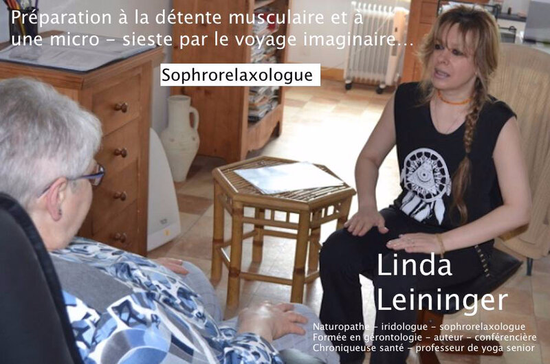 Linda Leininger Naturopathe - Linda Leininger Professeur de Yoga - sophrologie