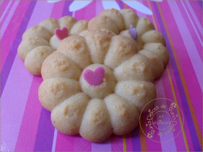 Biscuits à la vanille avec presse à biscuits 2