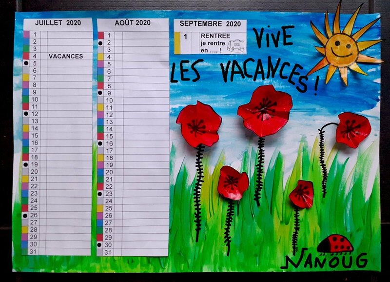 357-Calendrier Coquelicots (51d)