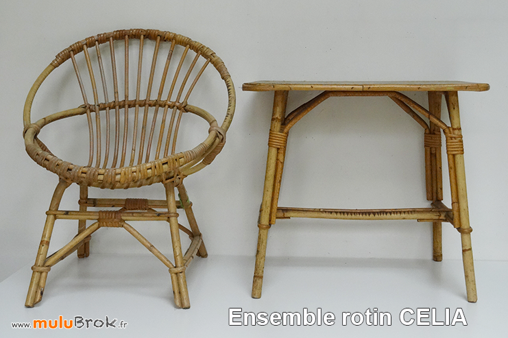 FAUTEUIL-COQUILLE-TABLE-ROTIN-CELIA-muluBrok-Vintage