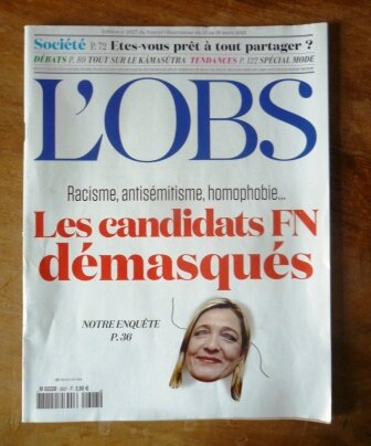 Le Pen Le masque