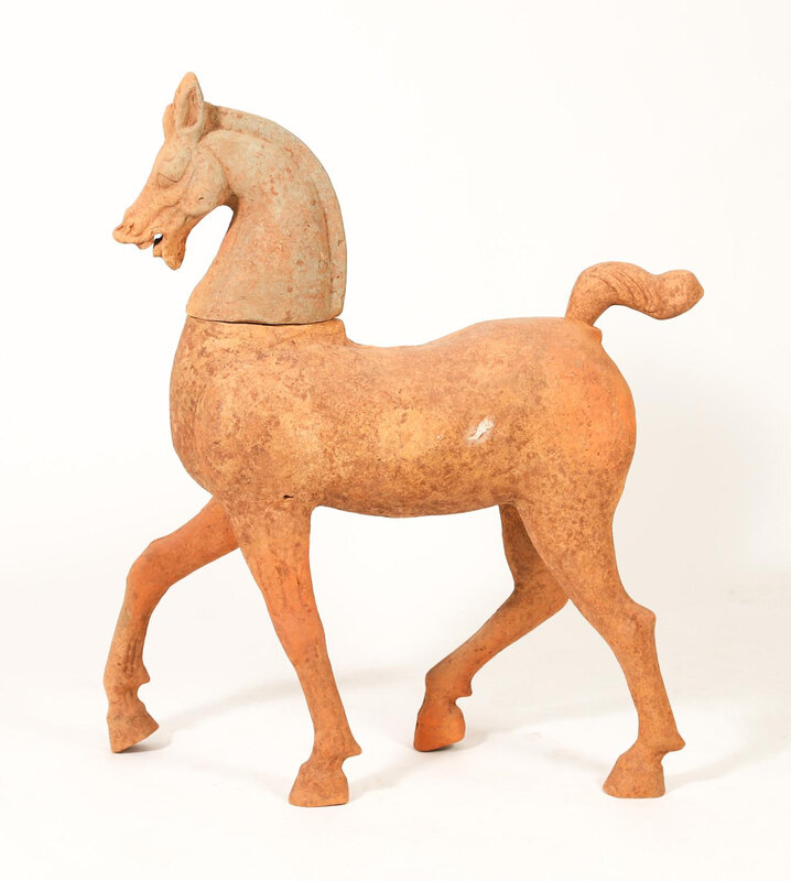 Large_Chinese_Pottery_Walking_Horse_Sichuan_Province_Han_Dynasty__682_1