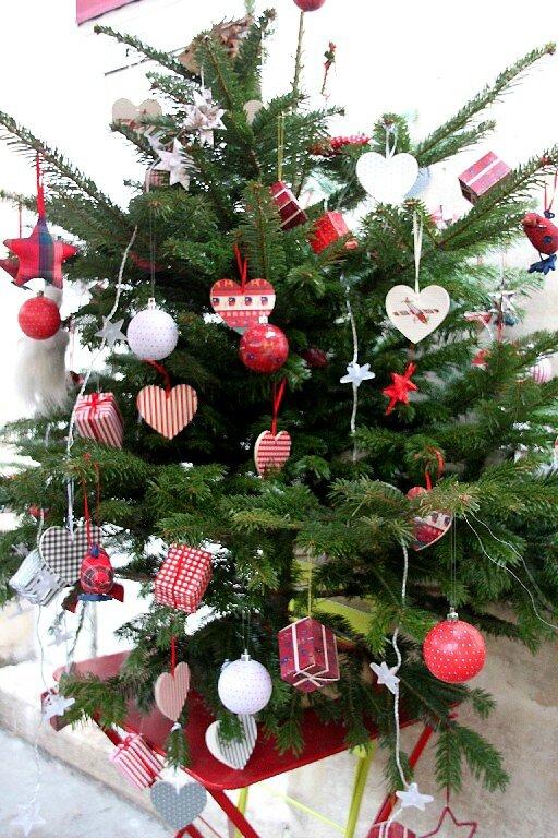 3-Sapin de Noël, coeurs_7172