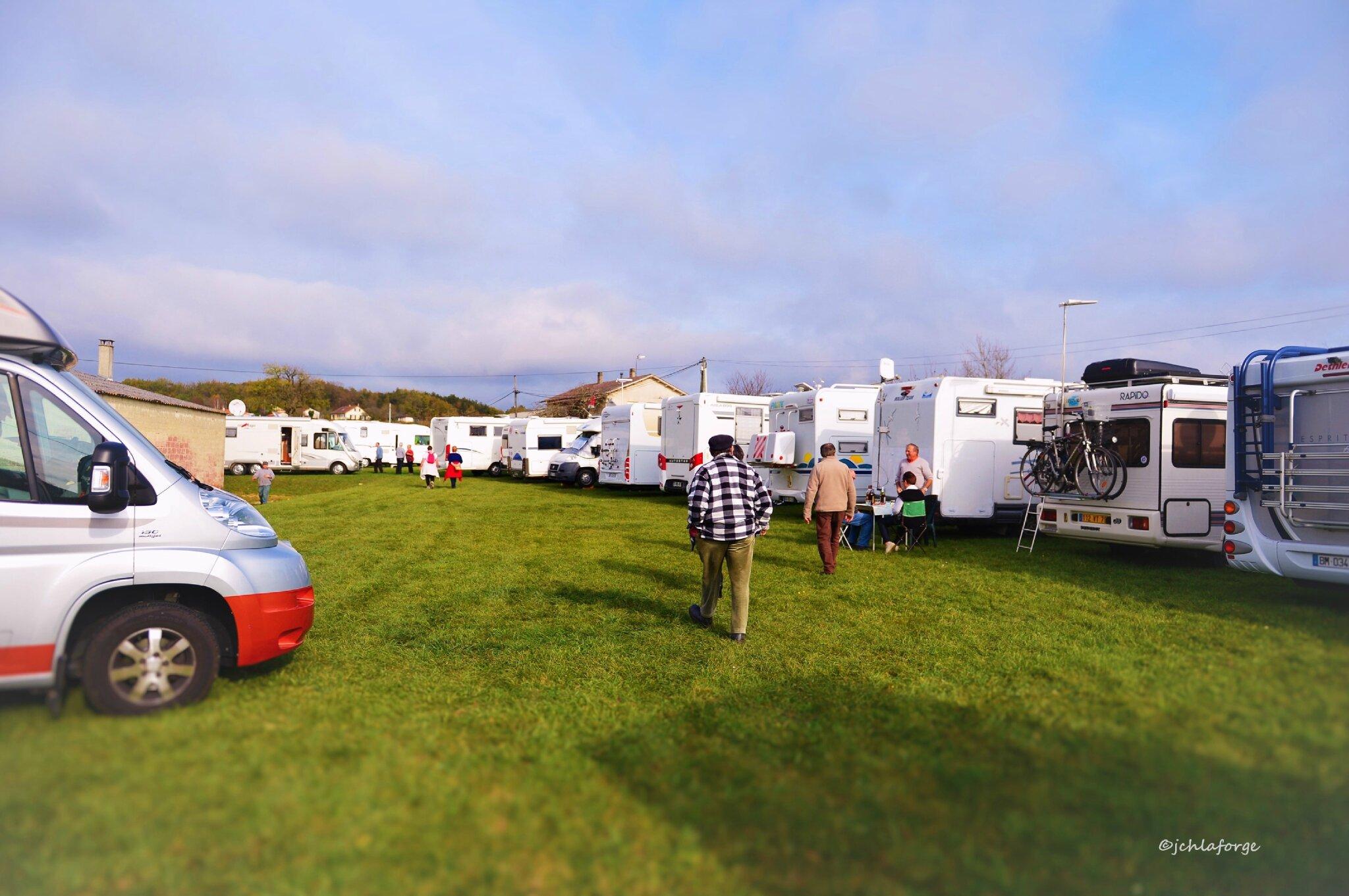 Camping caristes.