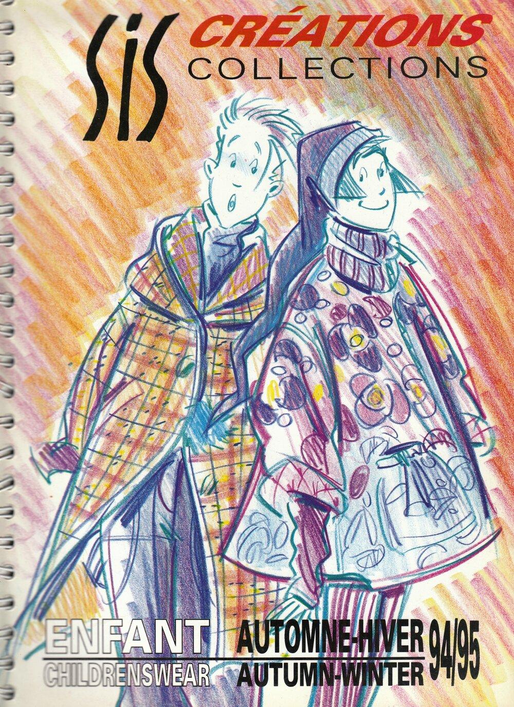 collections enfants automne-hiver 94-95