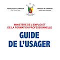L'usager du ministère de l'emploi et de la formation professionnelle a désormais son guide