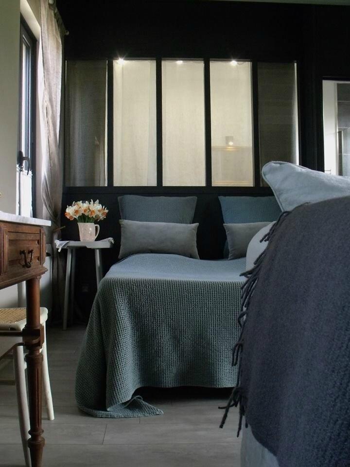 Le Mas Normand, chambre d\'hôtes en Normandie - Sonia Saelens déco