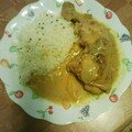 Poulet coco/curry