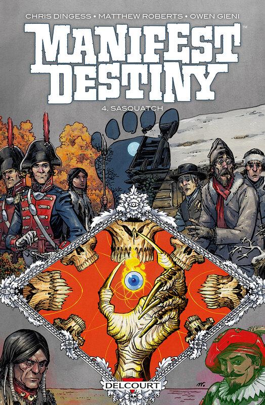 delcourt manifest destiny 04 sasquatch