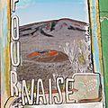 Semaine 5 de mon art journal avec manuela jamet - ma page photo à peindre