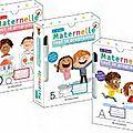 Les cahiers et fiches effacables maternelle tout le programme: on apprend et on s'amuse en même temps!!