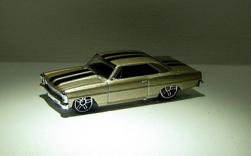 Chevrolet chevy nova de 1966 (Hotwheels 2007)