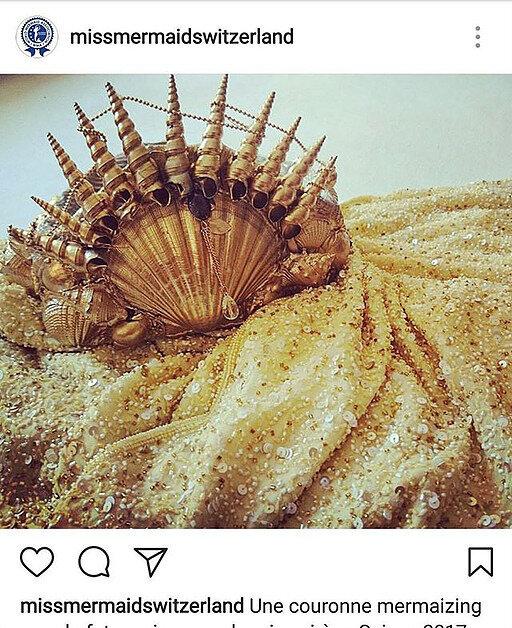 couronne pour miss mermaid suisse