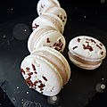 Macaron choco cannelle