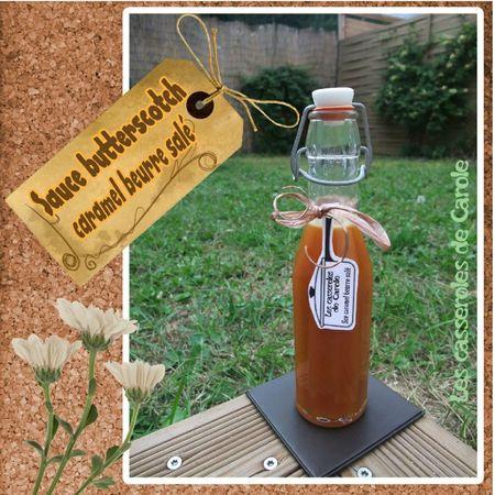 Sauce butterscotch caramel beurre salé (scrap)