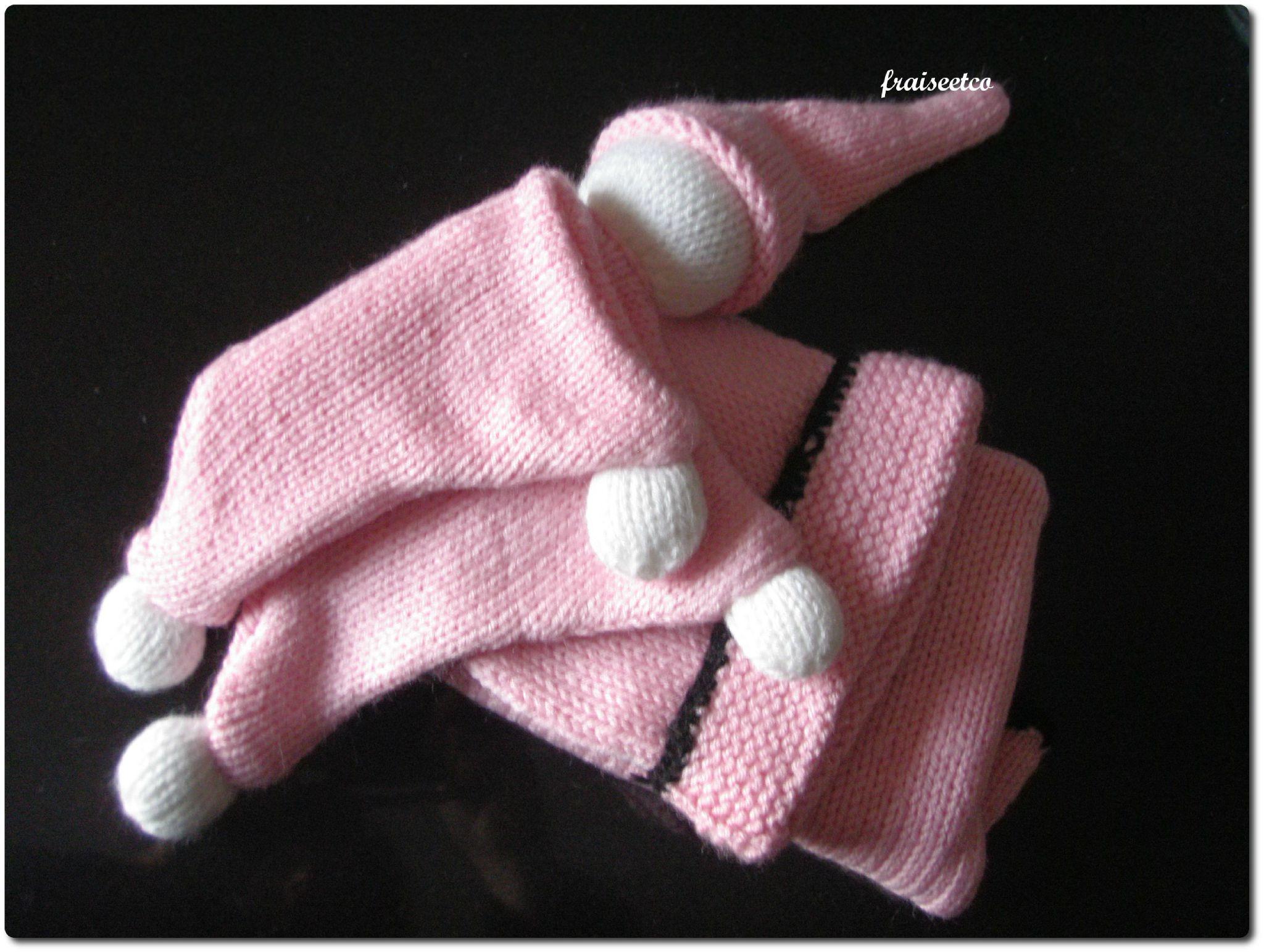 Tuto d'un Doudou Lutin au tricot - Fraiseetcompagnie