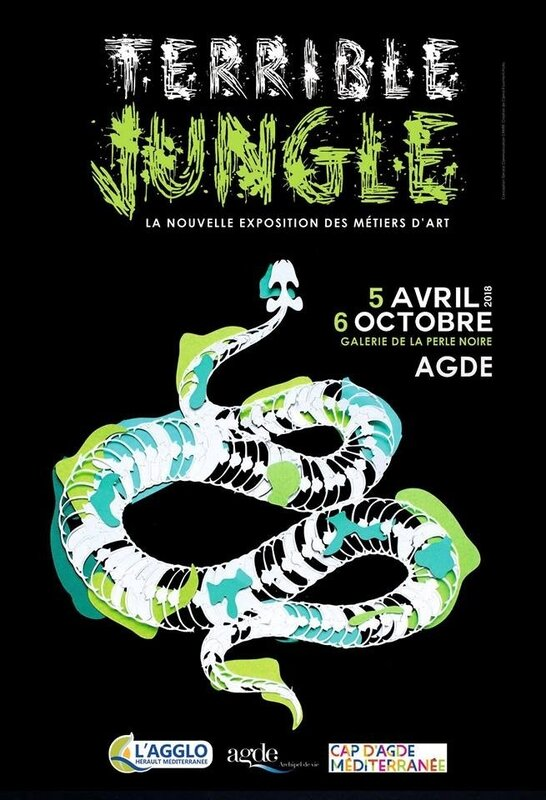 Exposition Terrible Jungle Galerie La Perle Noire