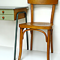 Petit mobilier ... chaise bistrot * thonet