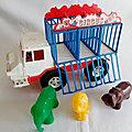 01025 camion cage cirque marque mob