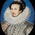 Portrait de françois d'anjou par nicholas
