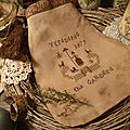 Tending the garden Pouch US $ 11.00