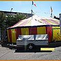 Circus pour une représentation à insviller