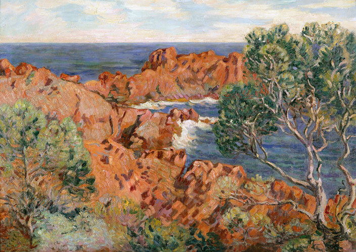 Agay_by_Jean-Baptiste_Armand_Guillaumin,_Bass_Museum_of_Art